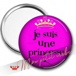 MIROIR DE POCHE PRINCESSE