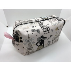 TROUSSE DE TOILETTE PARIS SO CHIC ROSE